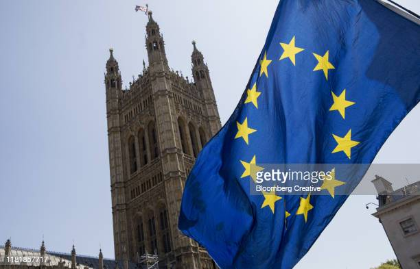the european union flag - brexit stock pictures, royalty-free photos & images