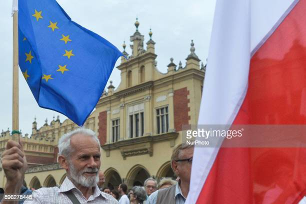 The European Union has launched today unprecedented disciplinary measures against Poland saying its judicial reforms threaten the rule of law an...