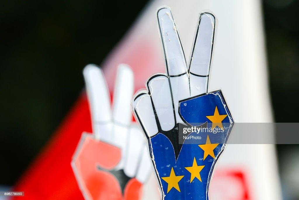 Poland judiciary reforms: EU takes disciplinary measures : News Photo