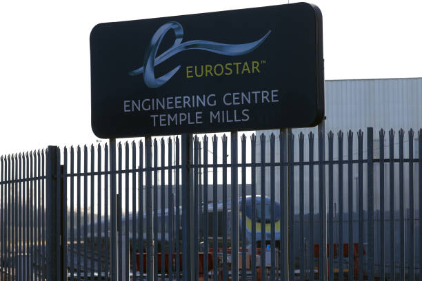GBR: Eurostar International Ltd. Operations As France And U.K. Discuss Aid Package