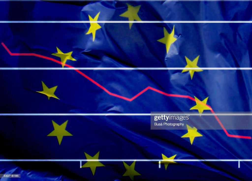 The Eurozone's economic crisis : ストックフォト