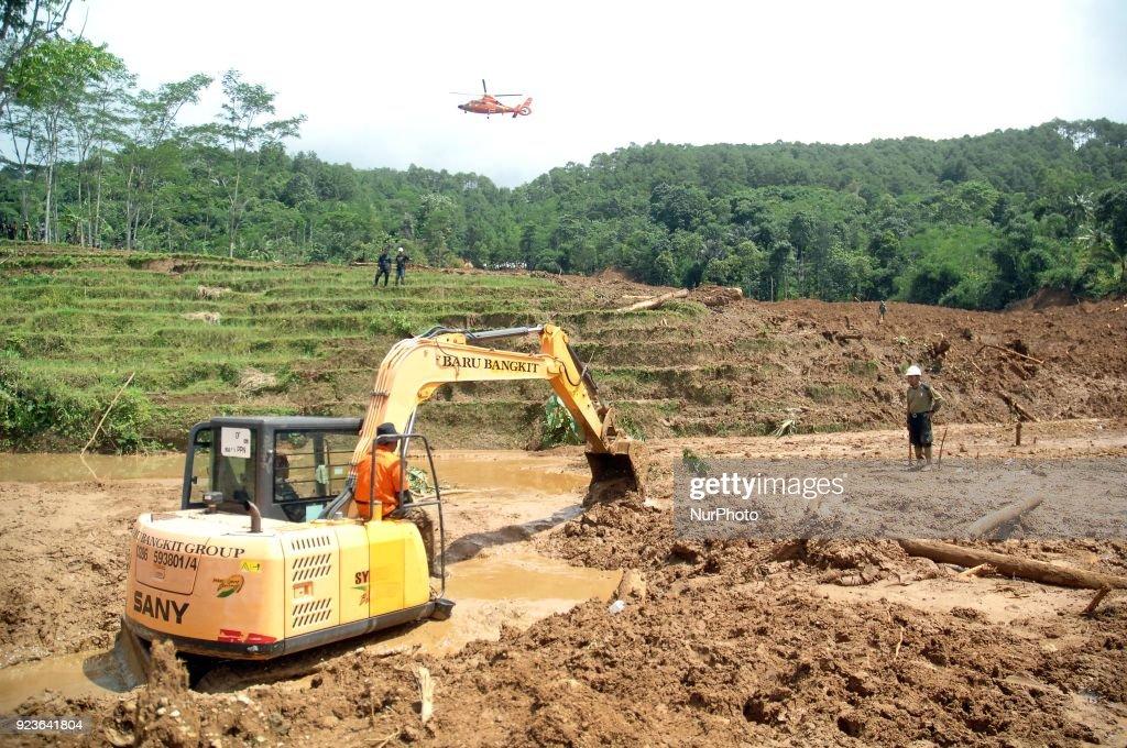 Landslide victims in Brebes