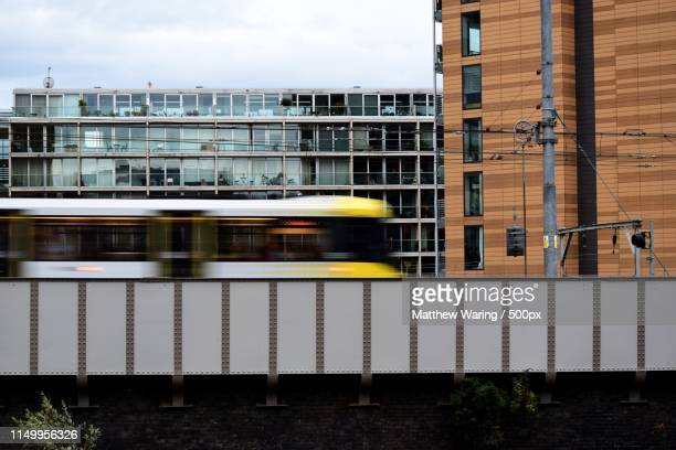 the evening commute - northern rail stock pictures, royalty-free photos & images