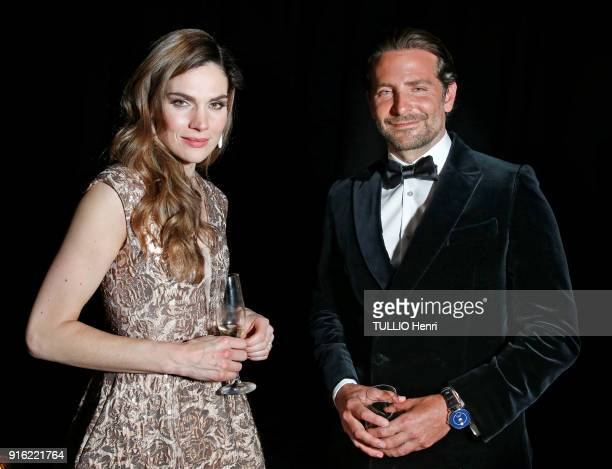 the evening gala IWC Schaffhausen for the 150th anniversary at the international Exhibition of the Haute Horlogerie the actress Anna Drijver and...