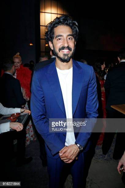 the evening gala IWC Schaffhausen for the 150th anniversary at the international Exhibition of the Haute Horlogerie Dev Patel is photographed for...