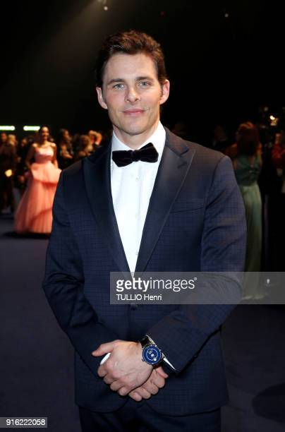 the evening gala IWC Schaffhausen for the 150th anniversary at the international Exhibition of the Haute Horlogerie James Marsden is photographed for...
