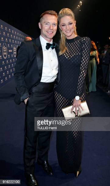 the evening gala IWC Schaffhausen for the 150th anniversary at the international Exhibition of the Haute Horlogerie the singer Ronan Keating and his...