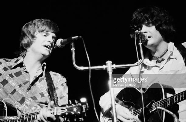 The Everly Brothers in concert at the Royal Albert Hall in London 13th October 1971
