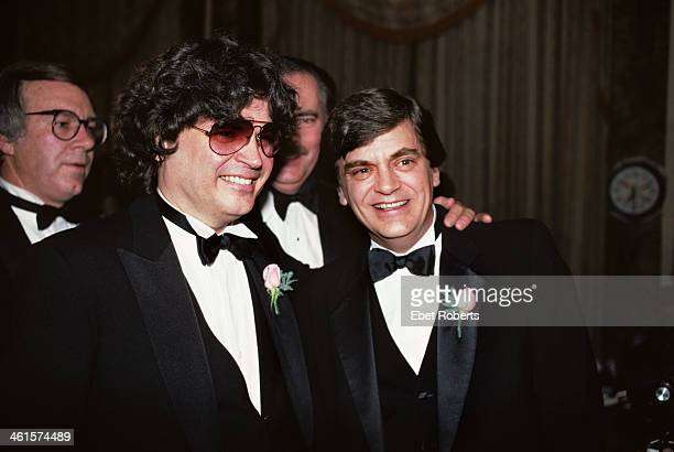 The Everly Brothers photographed at the Rock and Roll Hall of Fame induction ceremony at the Waldorf Astoria Hotel in New York City on January 23...