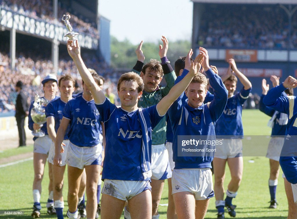 Everton Win The First Division Championship : News Photo