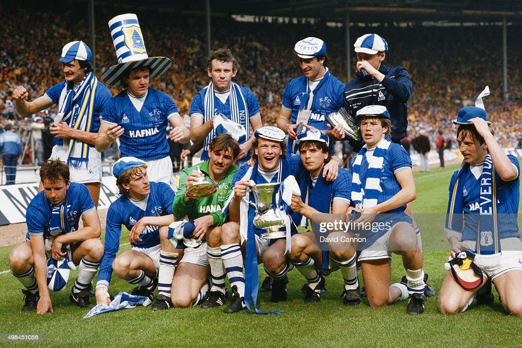 Everton 1984 FA Cup Winners : News Photo