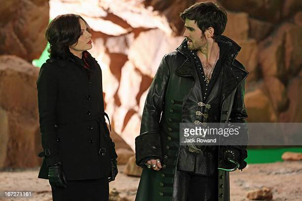 "The Evil Queen"" - With the aid of Hook, Regina attempts to put a plan in motion that will help transport herself and Henry back to Fairytale land...."