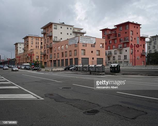 The ex olympic village built for the athletes of the Olympic Winter games is now abandoned on September 20 2010 in Turin Italy