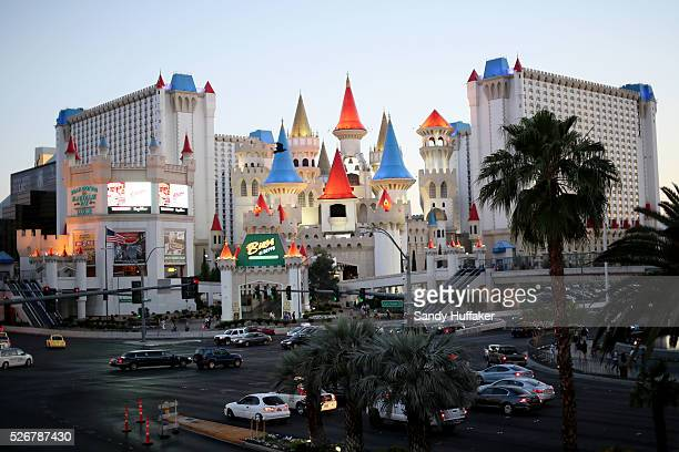 The Excalibur Hotel sits along Las Vegas Blvd along the strip in Las Vegas NV on Wednesday April 30 2014The Las Vegas Convention and Visitors...