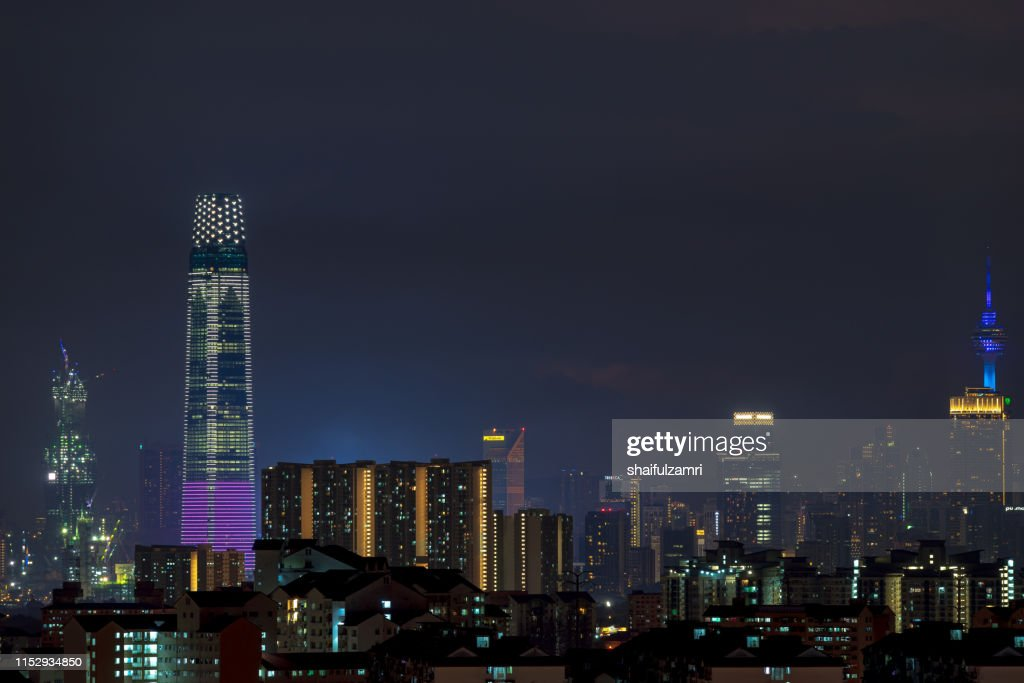 The Exchange 106 (451.9m) is a tallest skyscraper in Kuala Lumpur, Malaysia. : Stock Photo