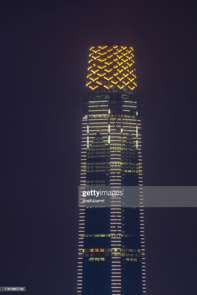 The Exchange 106 is located in Kuala Lumpur's planned new financial district Tun Razak Exchange, briefly known as TRX. : Stock Photo