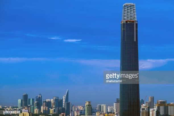 The Exchange 106 - new skyscraper under construction in Kuala Lumpur.