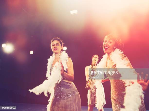 the exciting evening - musical theater stock pictures, royalty-free photos & images