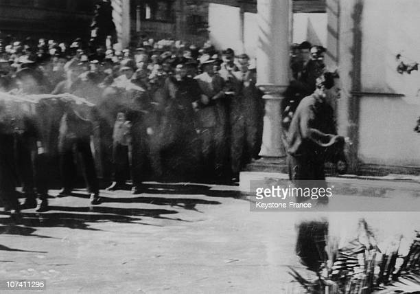 The Execution Of Achille Starace A Fascist Secretary In Italy
