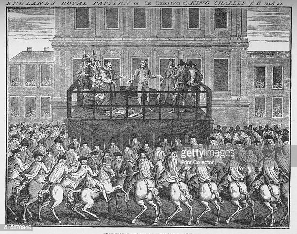 The execution of King Charles I 30 January 1649 circa 1735 Charles I was King of England Scotland and Ireland His conflicts with Parliament led to...