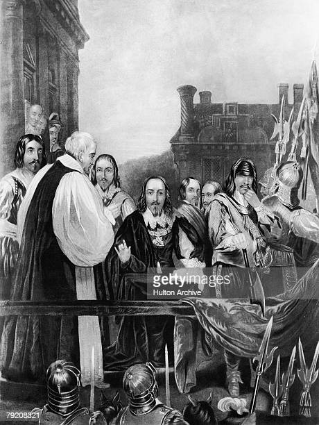 The execution of King Charles I at Whitehall 30th January 1649 A painting by Fish