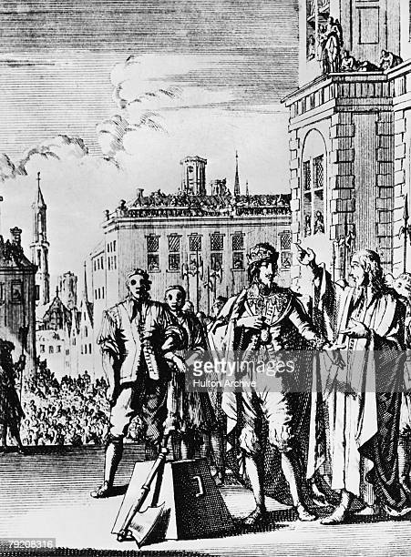 The execution of King Charles I at Whitehall 30th January 1649