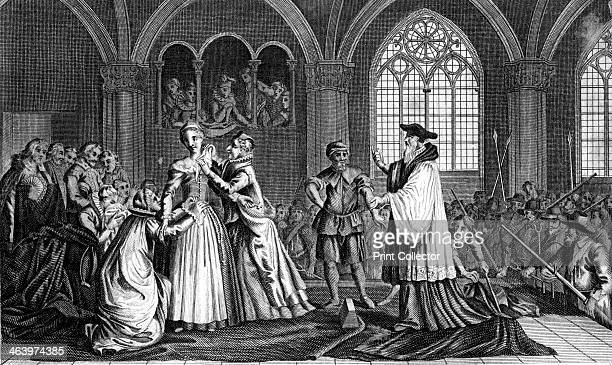 The execution of Mary Queen of Scots Mary's cousin Elizabeth I was sympathetic to her plight when she was forced to flee to England in 1567 However...