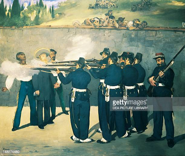 The execution of Maximilian by Edouard Manet Mannheim Städtische Kunsthalle