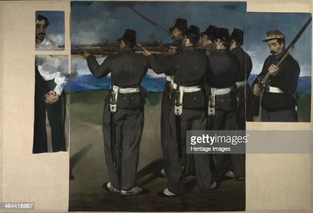 The Execution of Maximilian of Mexico c 1868 Found in the collection of the National Gallery London