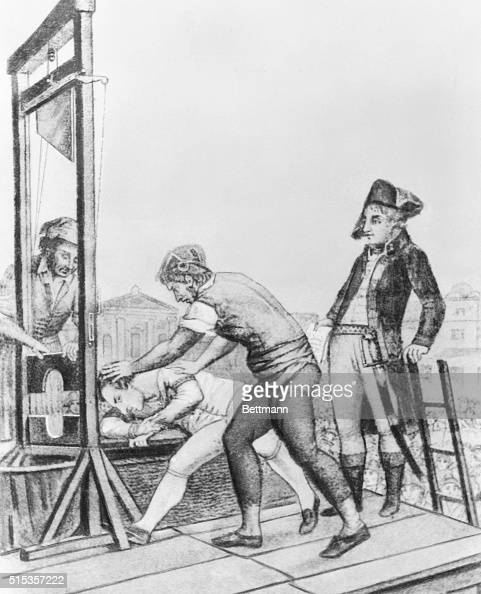 Execution of Robespierre Pictures | Getty Images