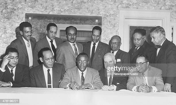 The Executive Committee of the Association of Former Internes and Residents of Freedmen's Hospital, Washington DC, June 7, 1959.