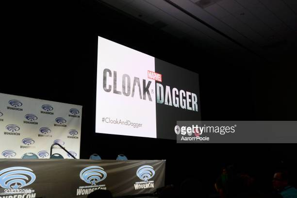 S CLOAK DAGGER The executive producers and cast of Freeforms highlyanticipated new original series Marvels Cloak Dagger attended WonderCon to promote...