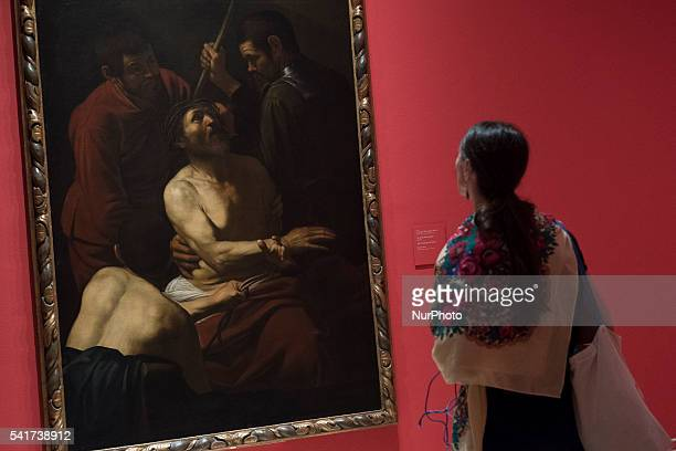 The exhibition 'Caravaggio and the Painters of the North' at the Thyssen Museum in Madrid Spain on 20 June 2016 The exhibition will be open to public...