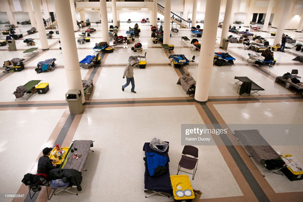 Seattle's Homeless Struggle During Coronavirus Pandemic : News Photo