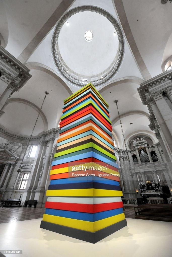 'Burri - la Pittura, Irriducibile Presenza' Exhibition In Venice : News Photo