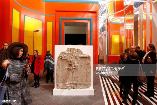 MUSEUM NAPLES CAMPANIA ITALY The exibition Pompei@madre in the Madre Museum of Contemporary Art where archaeological finds from Pompeii the most...