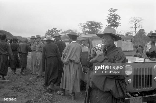 The Exile Of Dalai Lama In India Traqué par les Chinois le DALAI LAMA a fuit le Tibet et trouvé refuge en Inde 18 avril 1959 son arrivée à la...