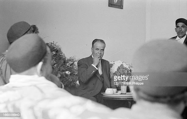 The Exile On Groix Island And The Triumphal Return Of Habib Bourguiba In Tunisia Tunis 5 juin 1955 Après son exil par les autorités françaises le...