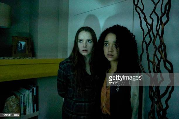 HOUSE 'The Exit' Episode 110 Pictured Amy Forsyth as Margot Aisha Dee as Jules