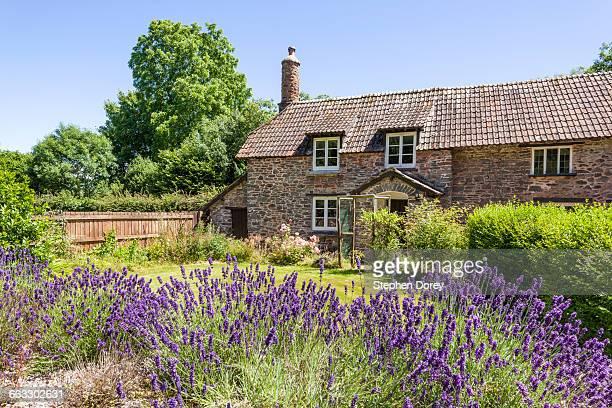 The Exmoor village of Horner, Somerset UK