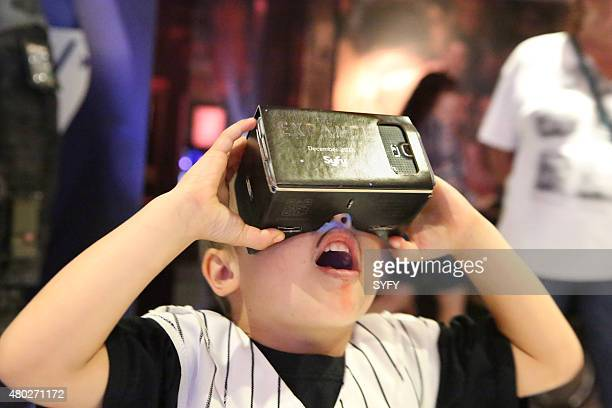 DIEGO 'The Expanse Cafe Branding Google Cardboard Demo Activation' Pictured Atmosphere