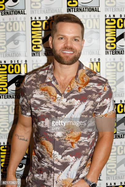 """The Expanse Press Room"""" -- Pictured: Wes Chatham --"""