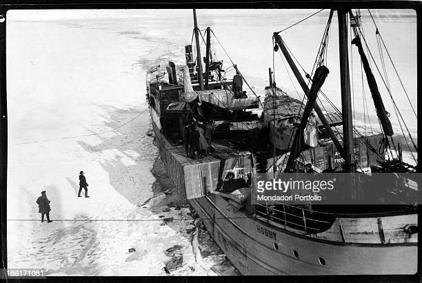 The expedition in the polar regions led by Norwegian explorer Roald Amundsen Antarctica 1900s