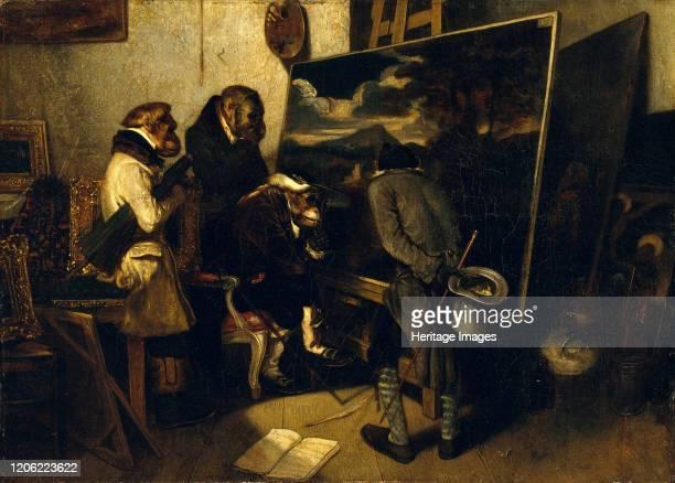 The Experts 1837 Artist Alexandre Gabriel Decamps