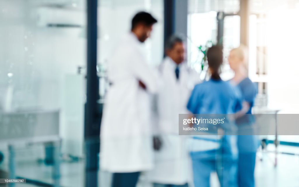 The experts are always on the job : Stock Photo