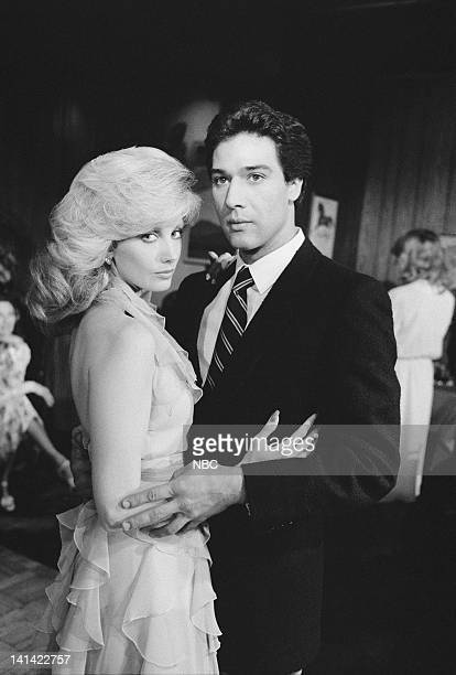 ROAD The Explosion Episode 12 Aired Pictured Morgan Fairchild as Constance Weldon Semple Carlyle Fernando Allende as Julio Sanchez Photo by NBCU...