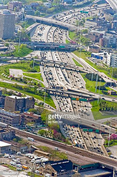 the expressway - ken ilio stock pictures, royalty-free photos & images