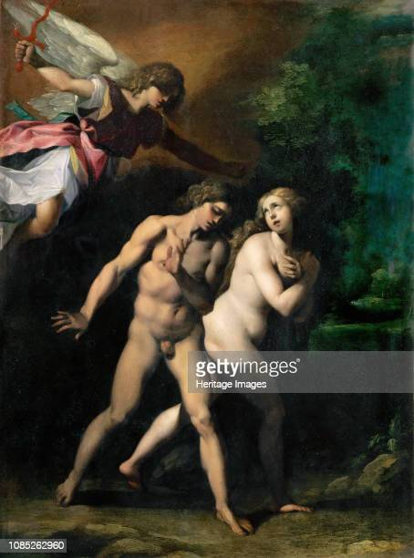 The Expulsion from the Paradise ca 1597 Found in the Collection of Musée du Louvre Paris