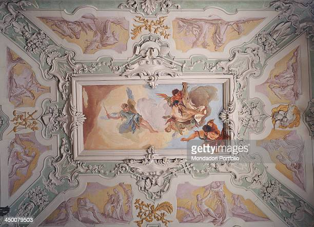 The Expulsion of the Rebel Angels by Giambattista Tiepolo 18th Century fresco 420 x 180 cm
