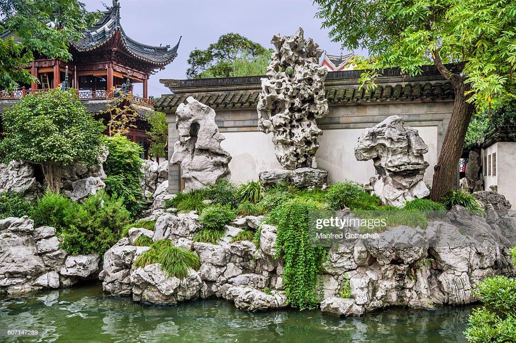 The Exquisite Jade Rock Yuyuan Garden Stock Photo | Getty Images